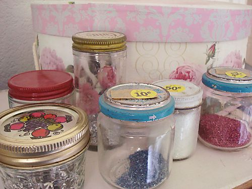 Jars before
