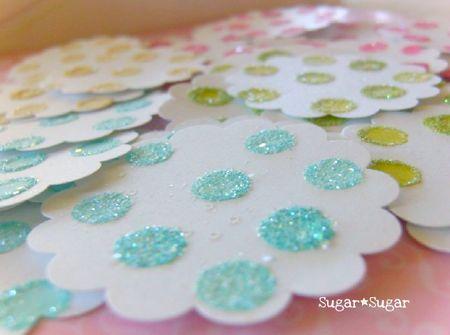 Glitter tags 1