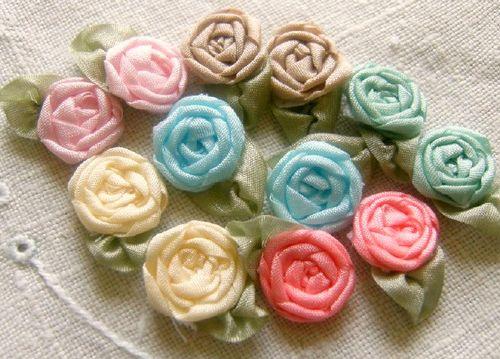 Rosette flowers