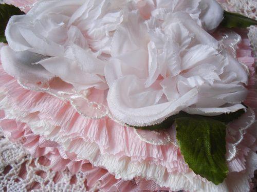 Pink rose details