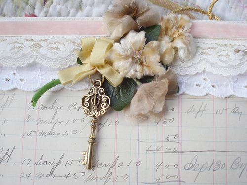 Page 1 key and flowers